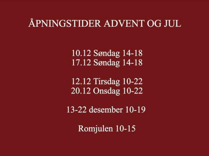 julåpningstider